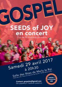 SEEDS of JOY EN CONCERT LE 29 AVRIL 2017